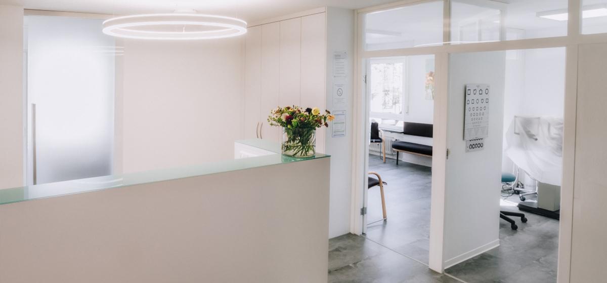 Unternehmensfotos Räume Arztpraxis Businessfotograf Karlsruhe