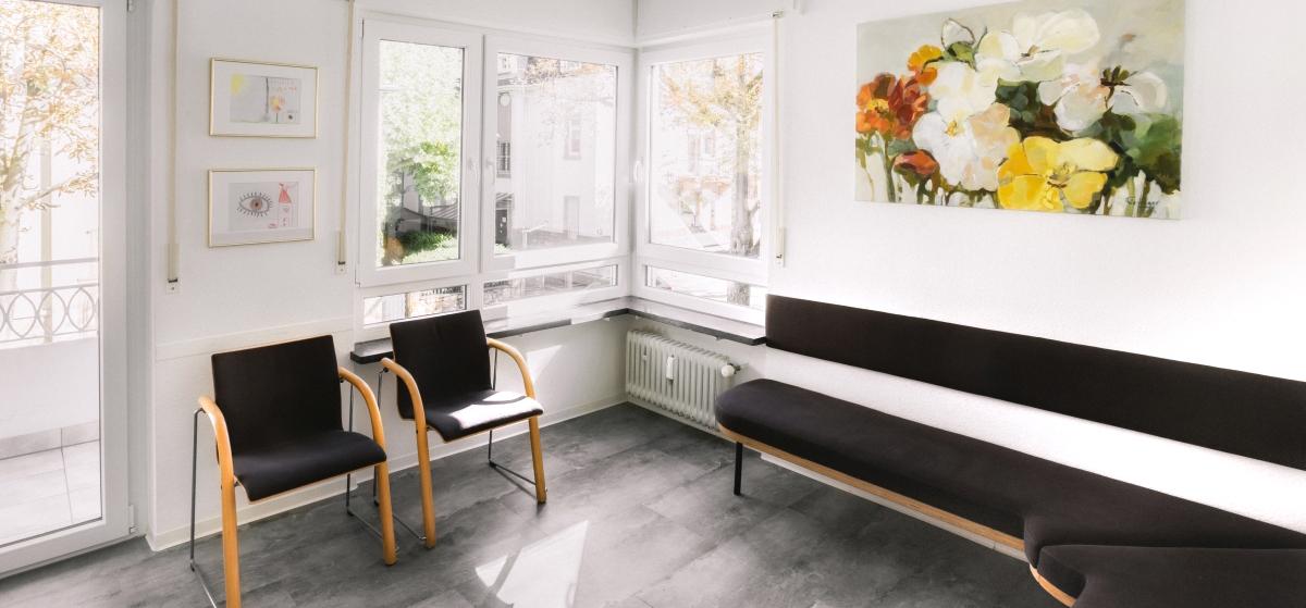 Wartezimmer Raumfoto Arztpraxis Businessfotograf Karlsruhe